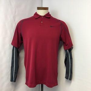 Nike Golf Long Sleeve Shirt Size M